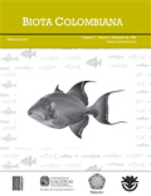 Revista Biota Colombiana Vol. 7 (2) - Volumen especial de peces